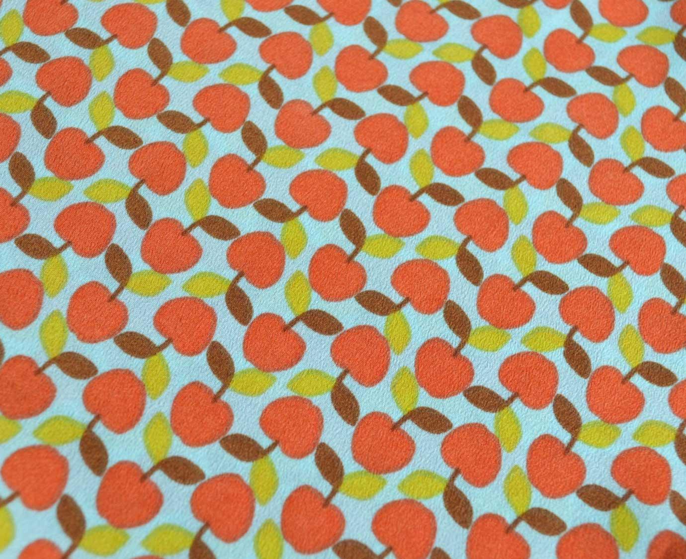 "Petit scarf ""Apple"" kleur"