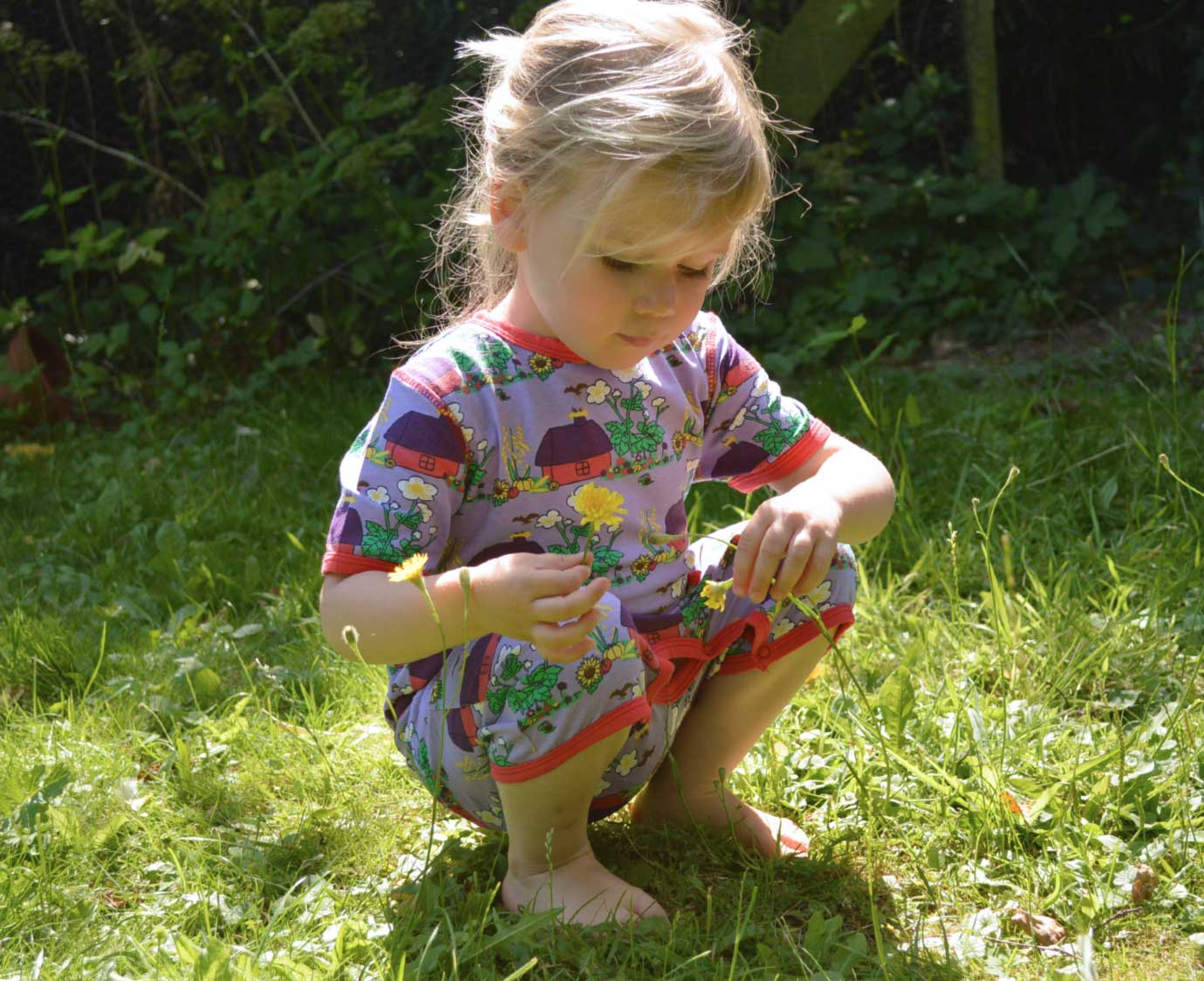 "Jumpsuit  ""Little Cottage"""