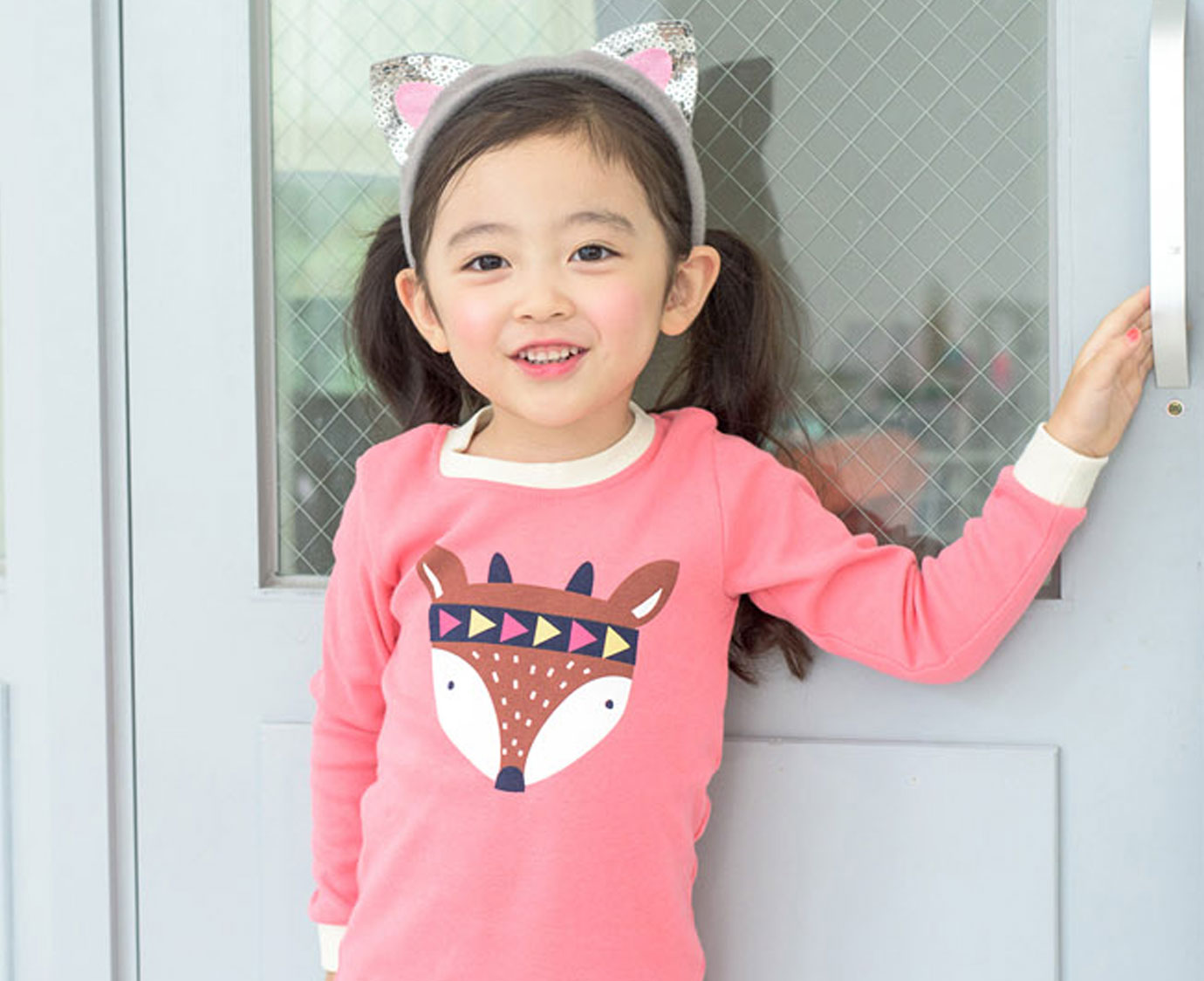 Pyjama 'Fox pink'