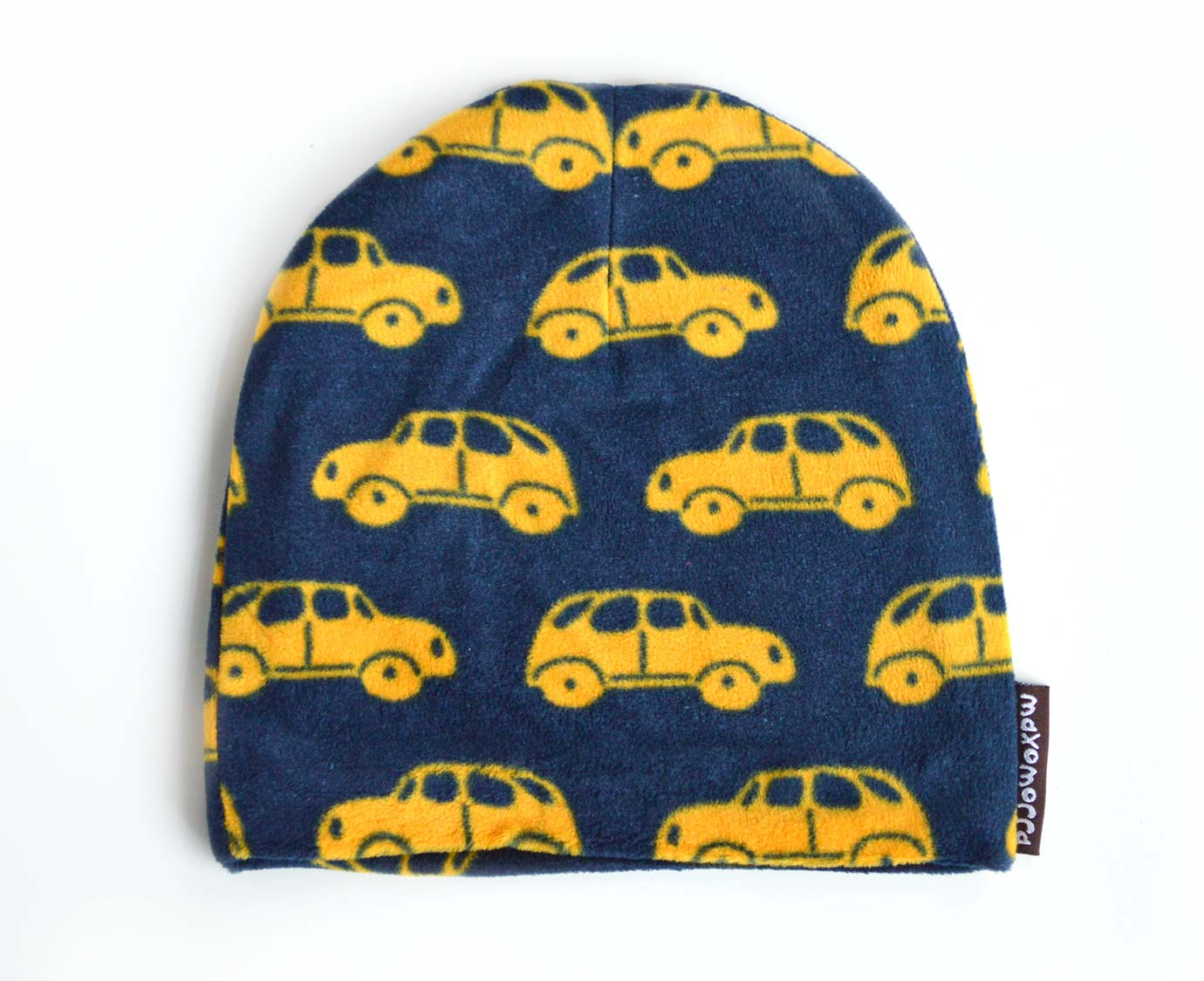 Fleece muts 'Little Car' kleur