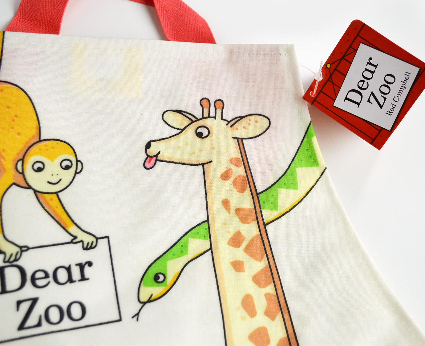 Schort 'Dear Zoo'