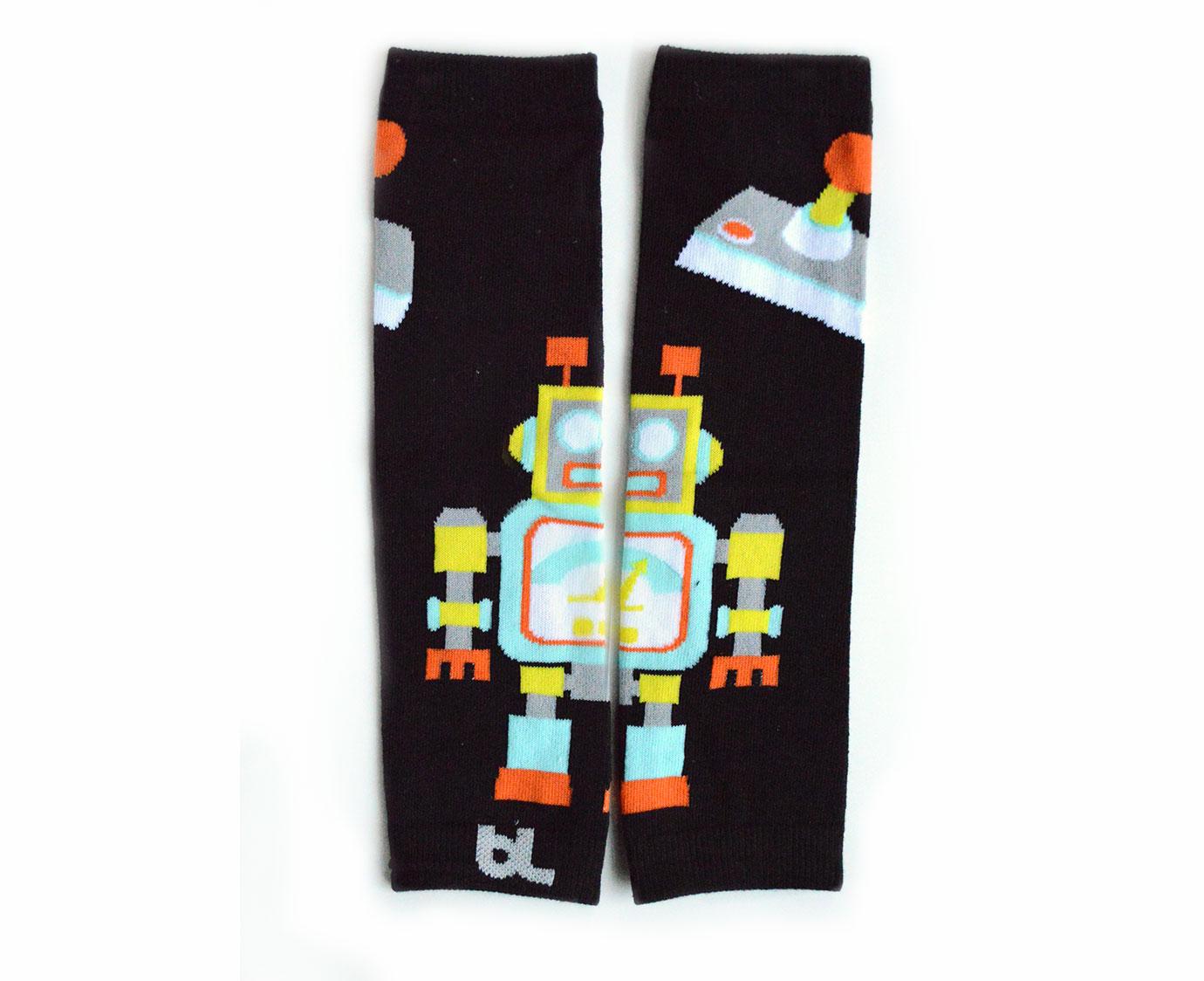 Beenwarmers 'Robots' kleur