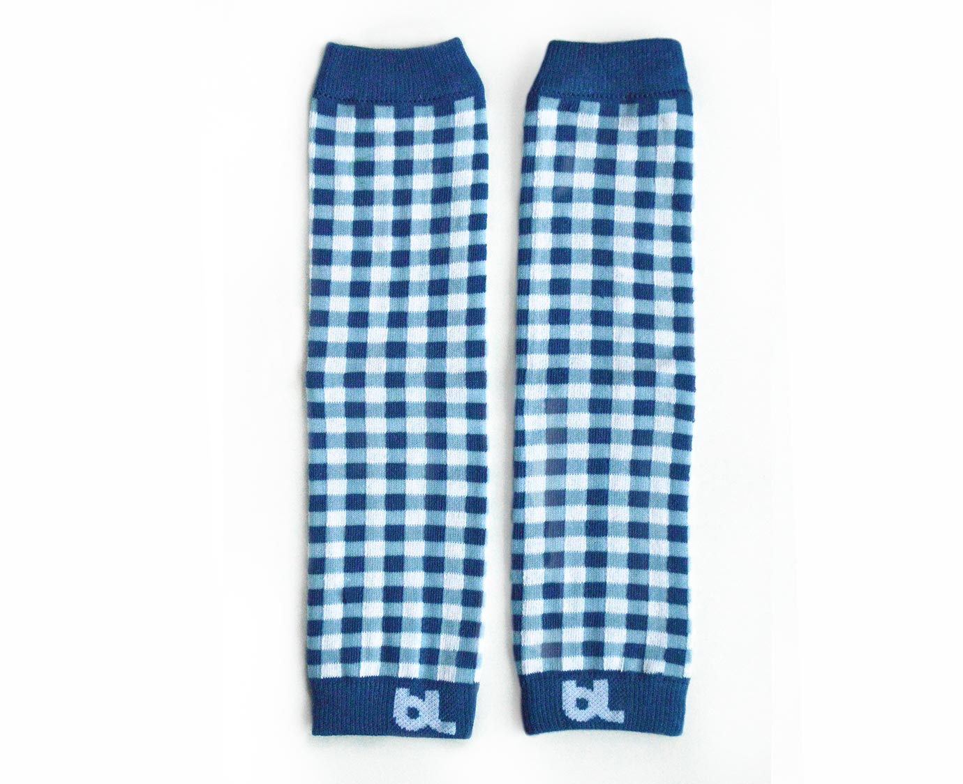 Beenwarmers 'Blue Gingham'