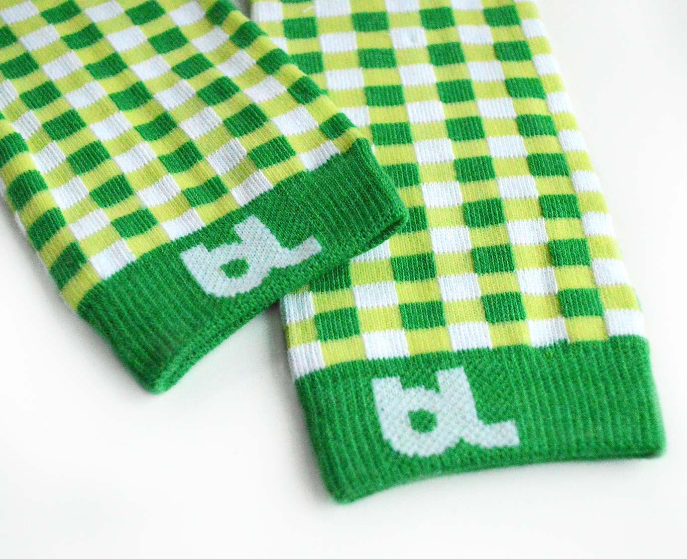 Beenwarmers 'Green Gingham'