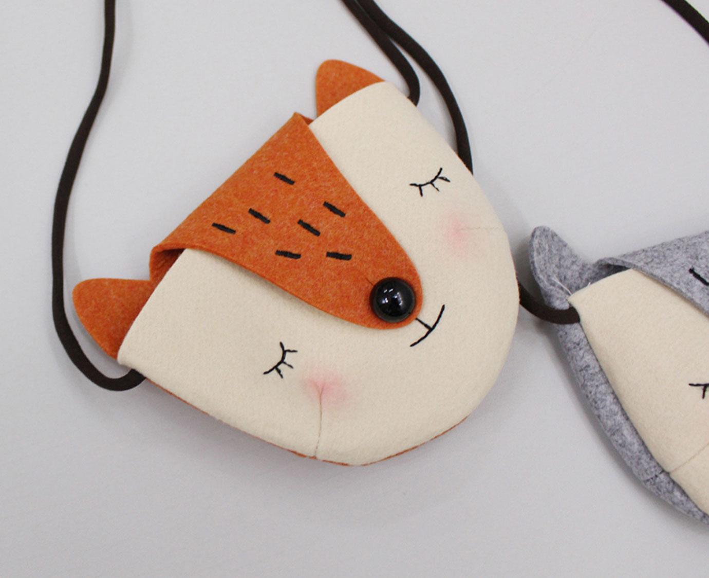 Tasje 'Fox'