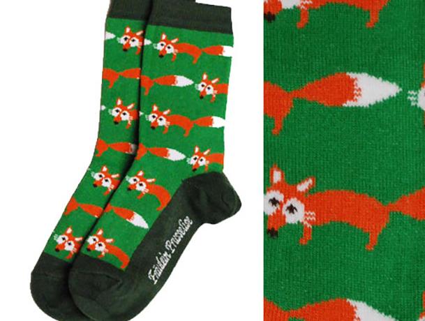 Organic sokken 'Vos'