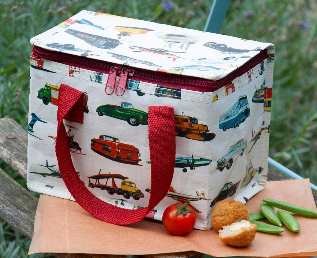 "Lunchtas ""Retro Transport"""
