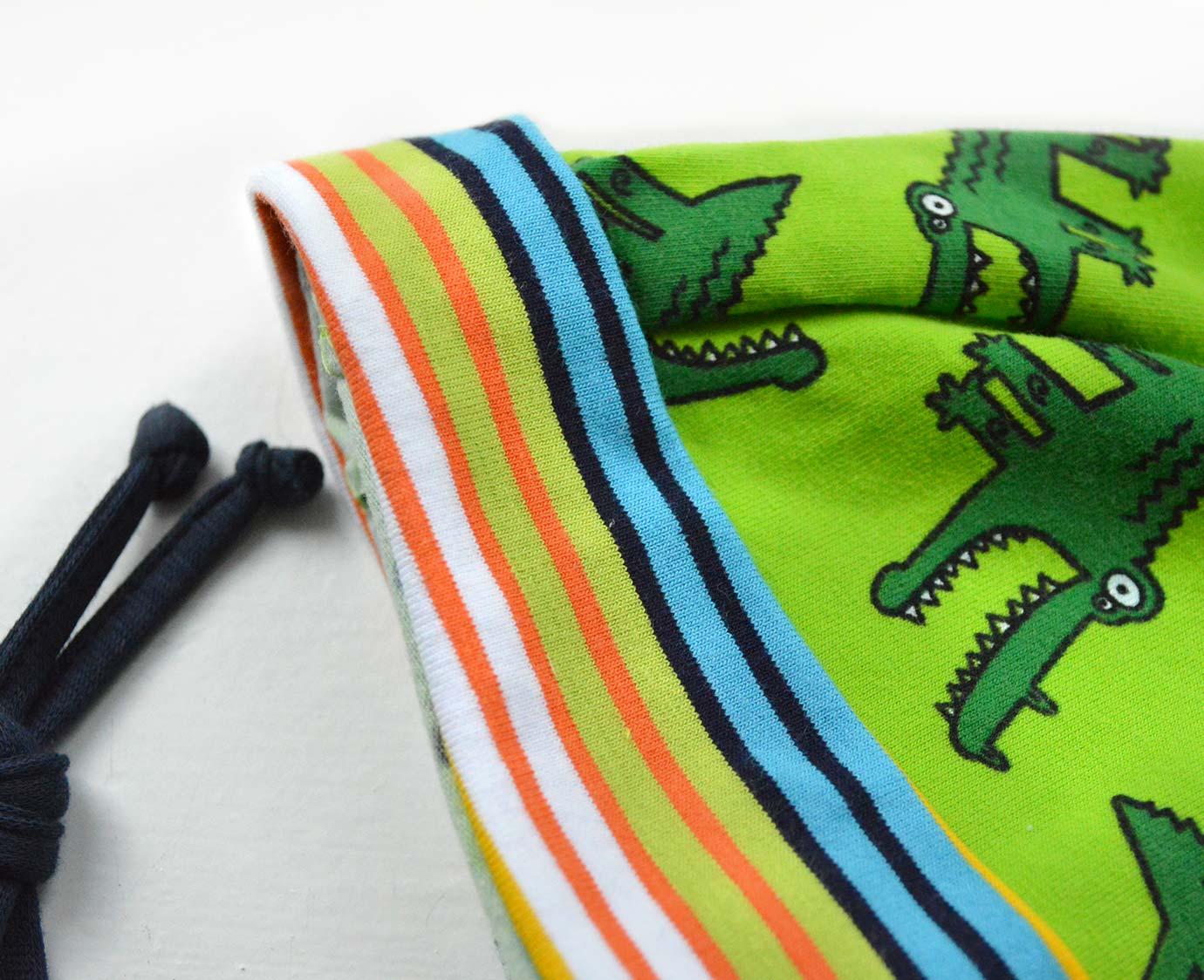 Babymutsje 'Krokodil'