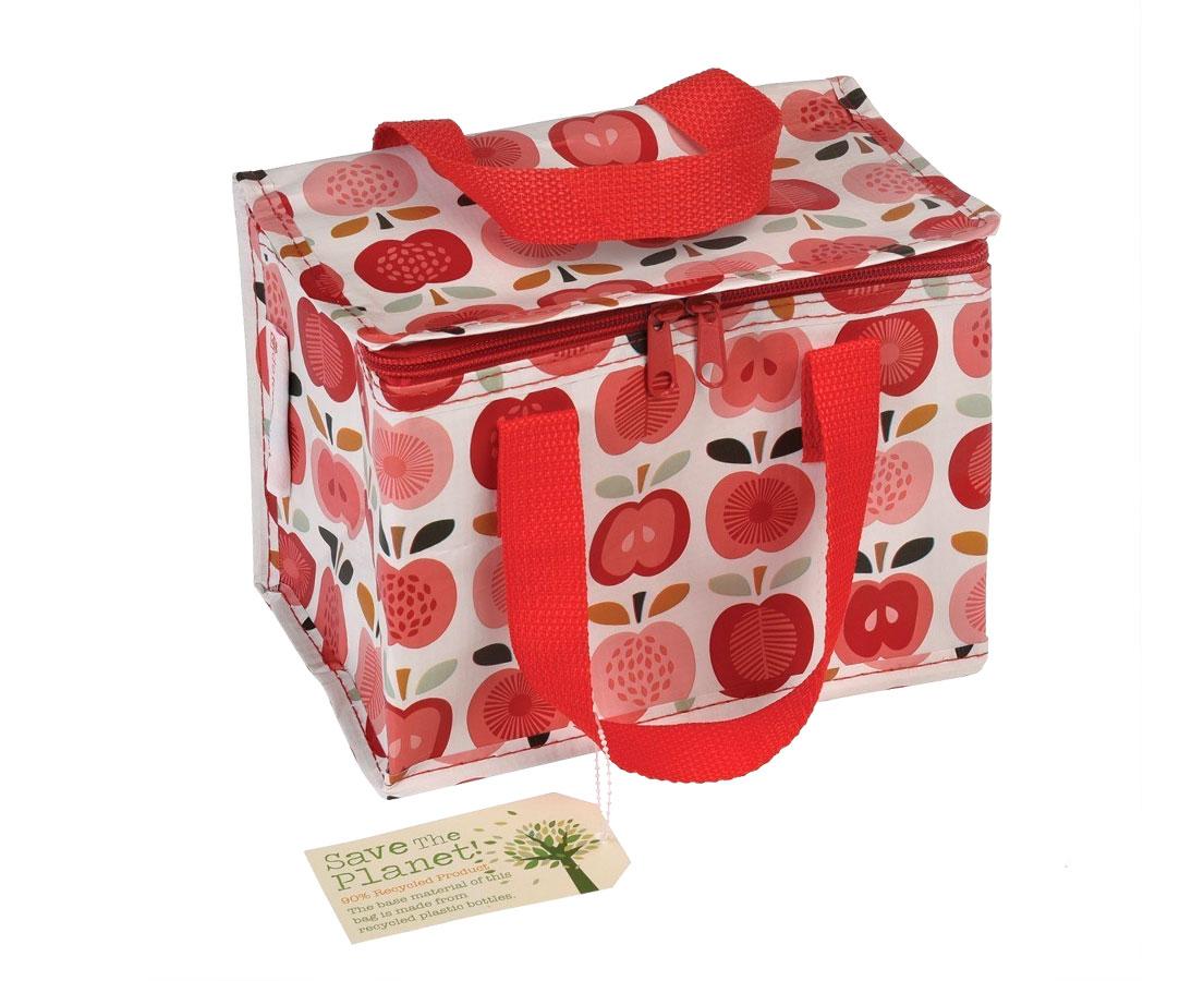 """Lunchtasje """"Vintage Appel"""" kleur"""