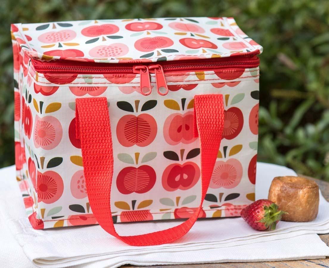 Lunchtasje 'Vintage Appel'