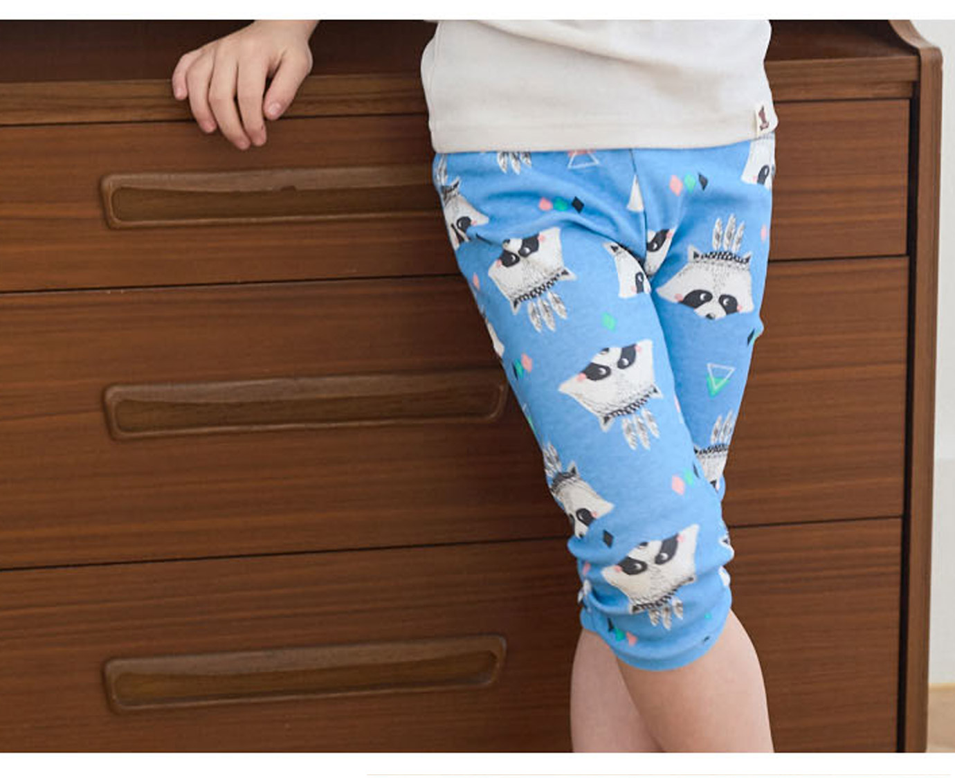 Pyjama 'Raccoon blue' 3