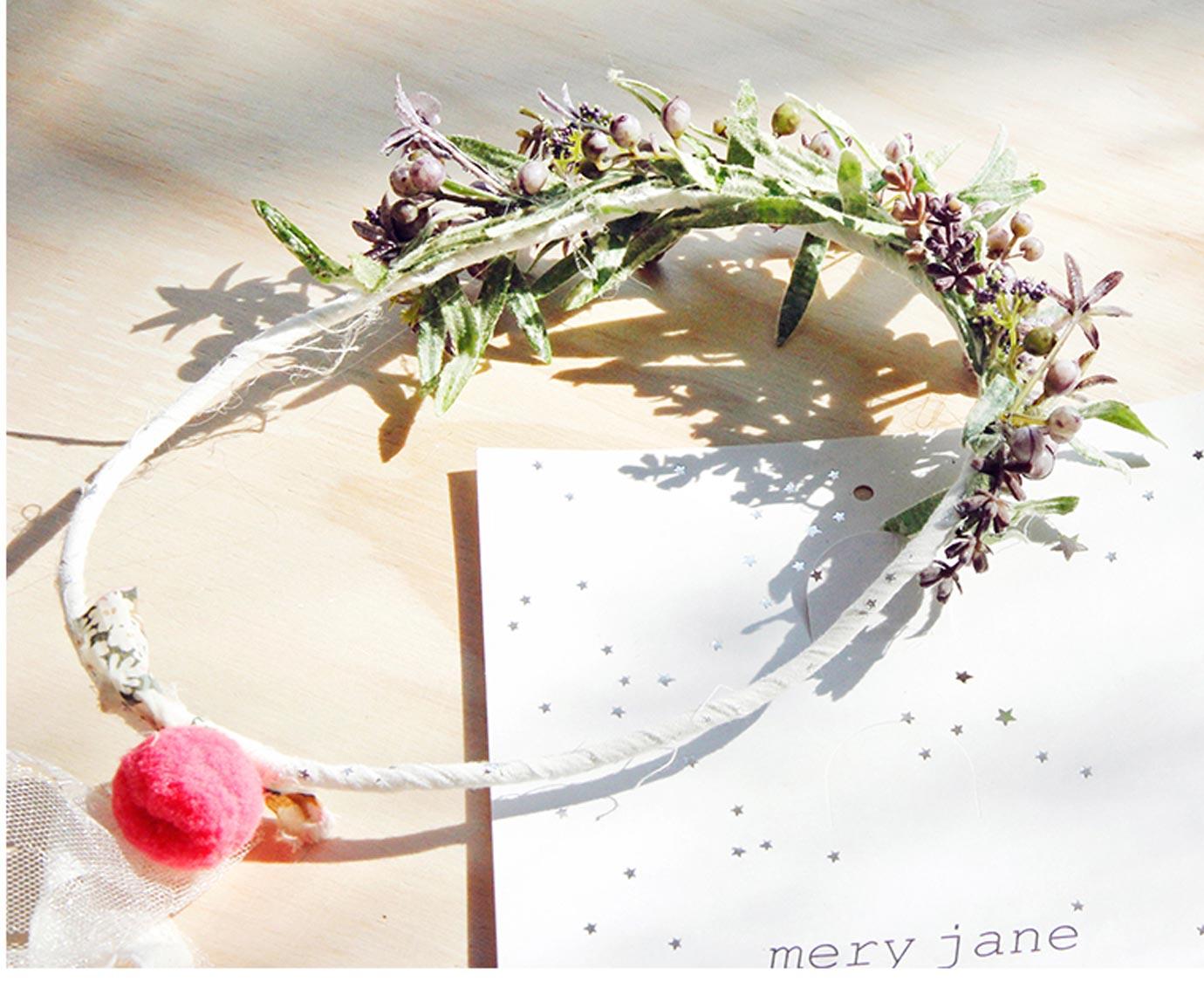 Haarkrans 'Mery jane'