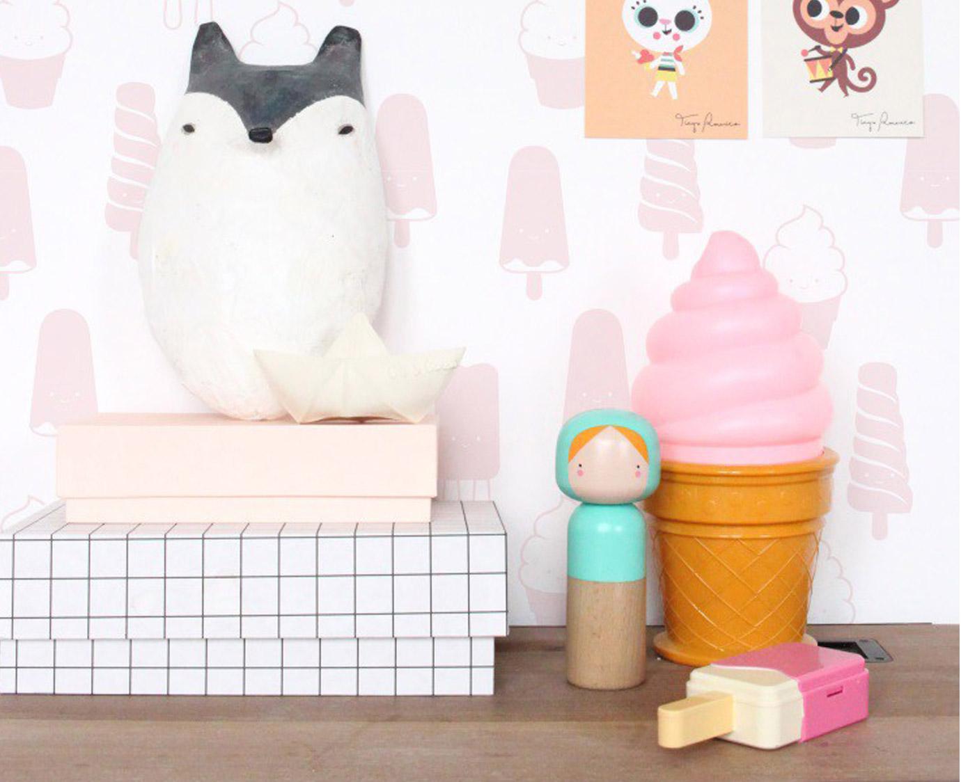 "* Lampje ""Ice cream pink"""