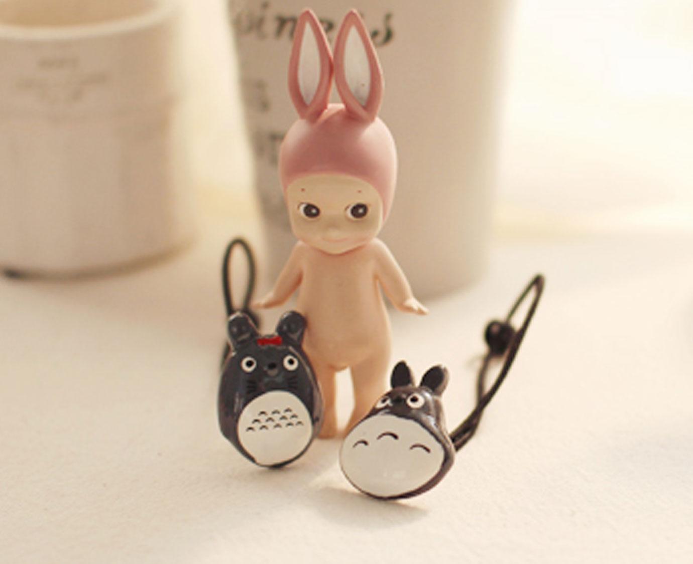 Set haarelastiek 'Totoro'