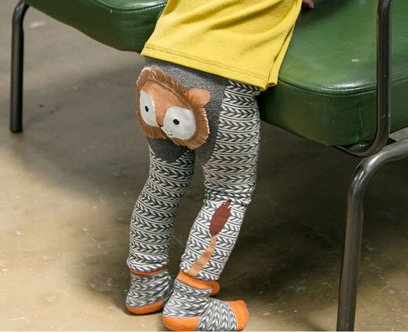 "Bebezoo Legging ""Lion"""