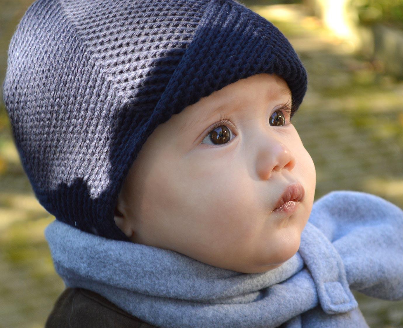 Babymuts 'Sterre Blue'