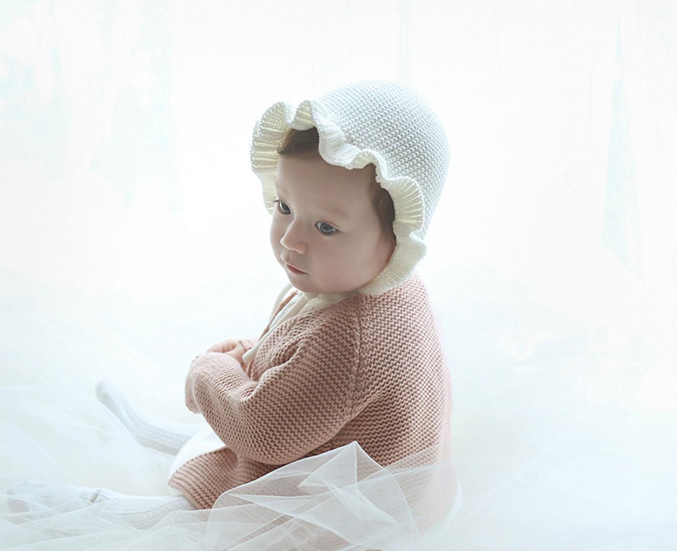 """Babymuts """"Rosen Knit"""""""