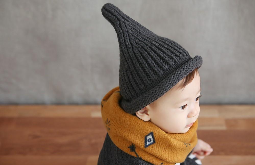 Muts 'Totori Charcoal' 6-24 maanden kleur