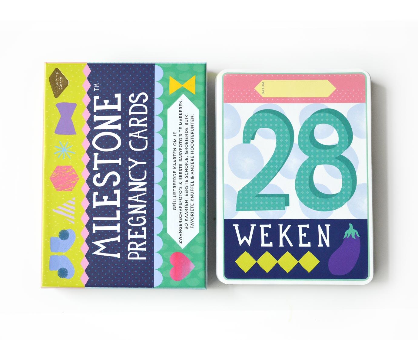 Milestone Pregnancy Cards NL