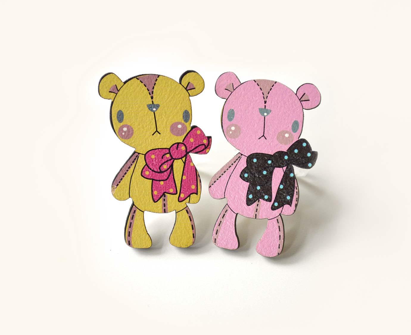Sjaal ring 'Bear&Rabbit'