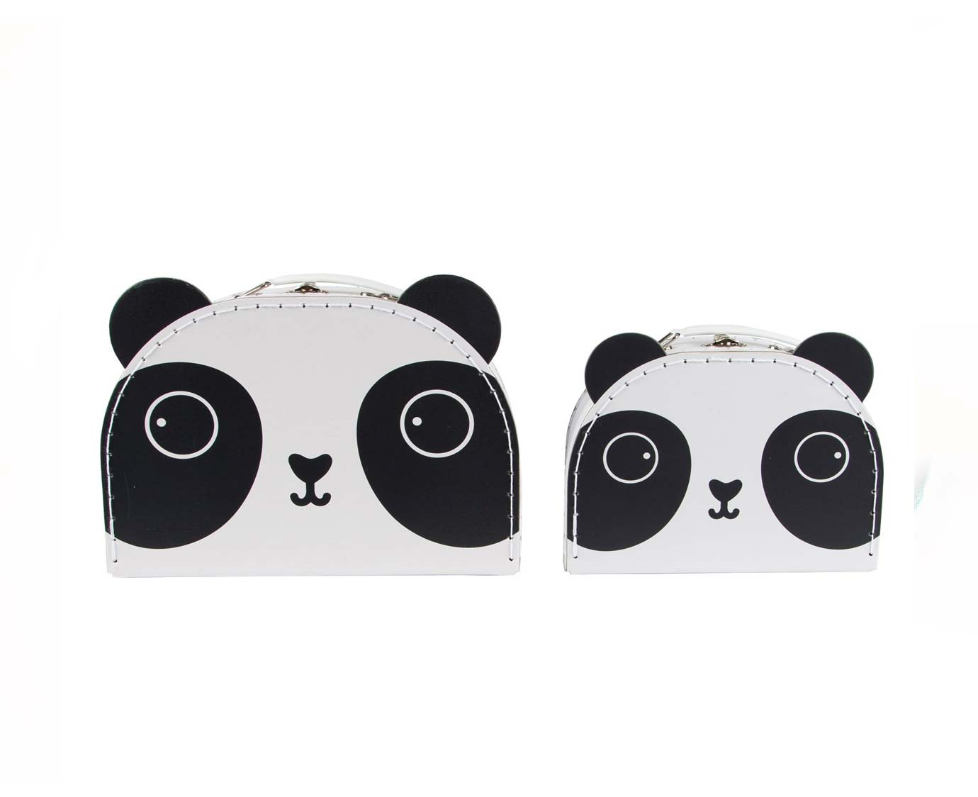 Koffer 'Panda' kleur