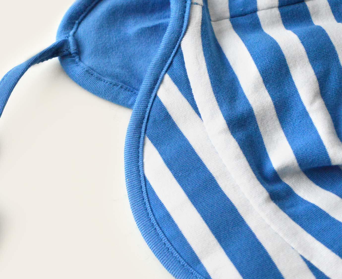 Zomerpetje 'Stripe Blue'