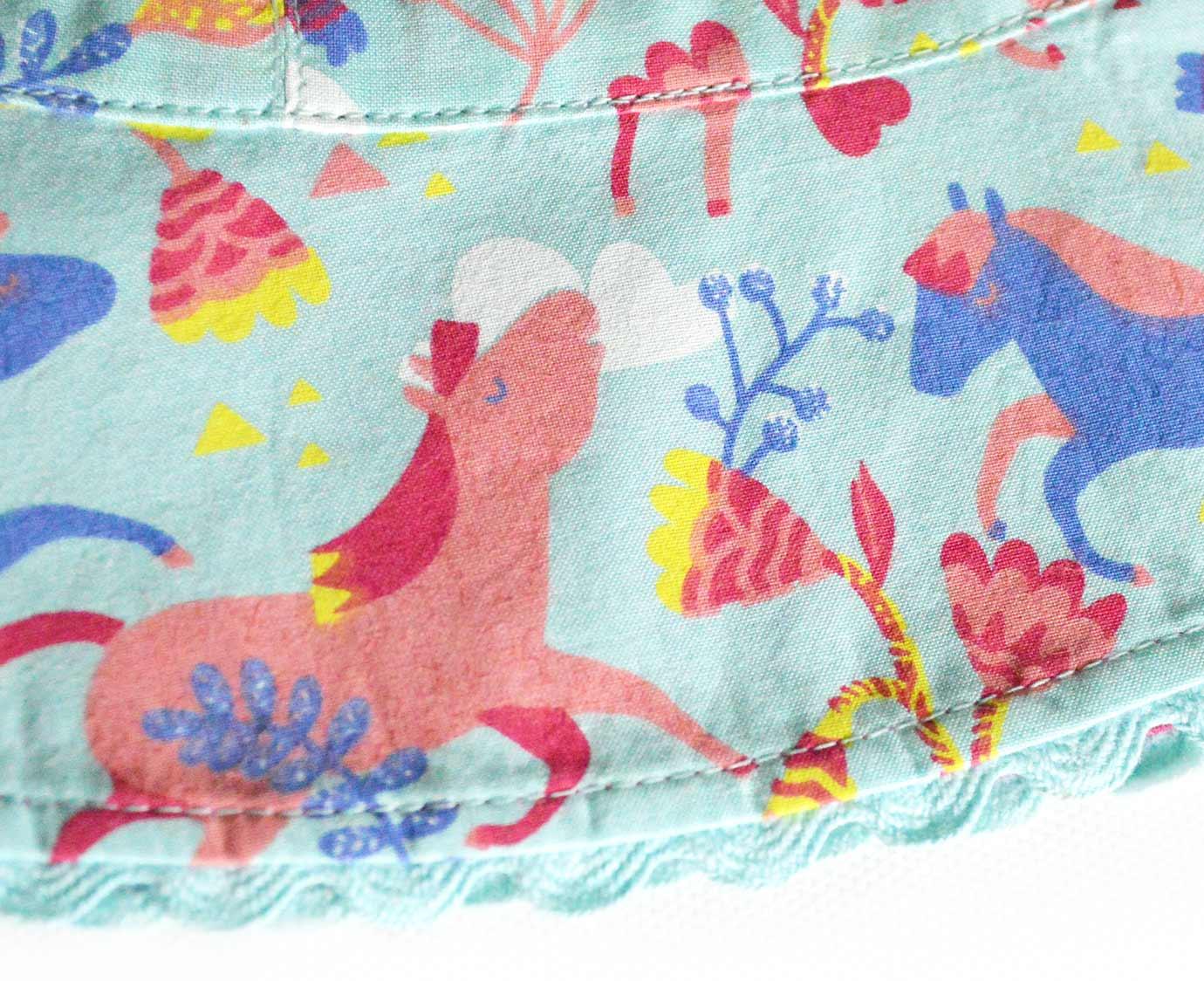 Zonnehoed 'Pretty horses' kleur