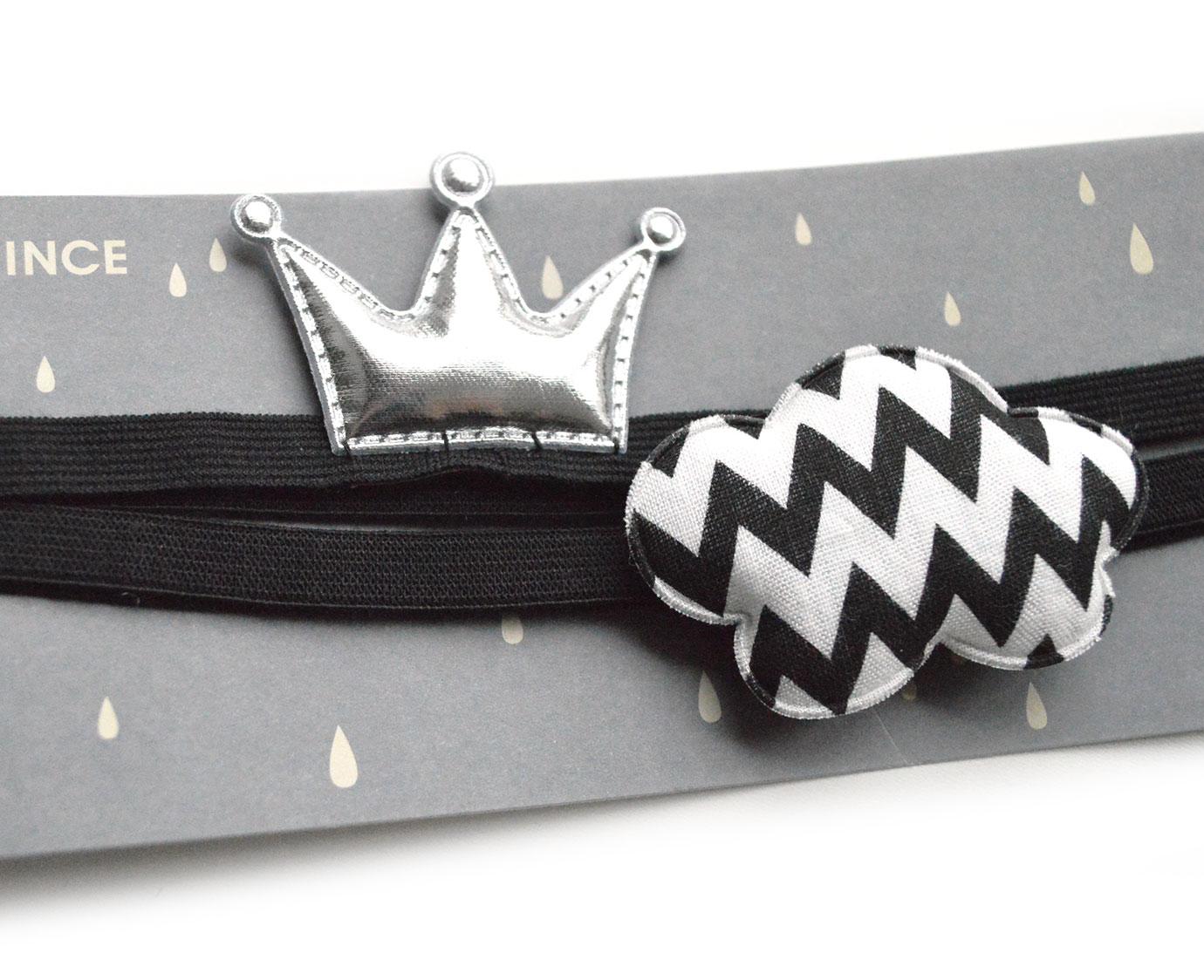 Haarband 'Kroon en Wolk' kleur
