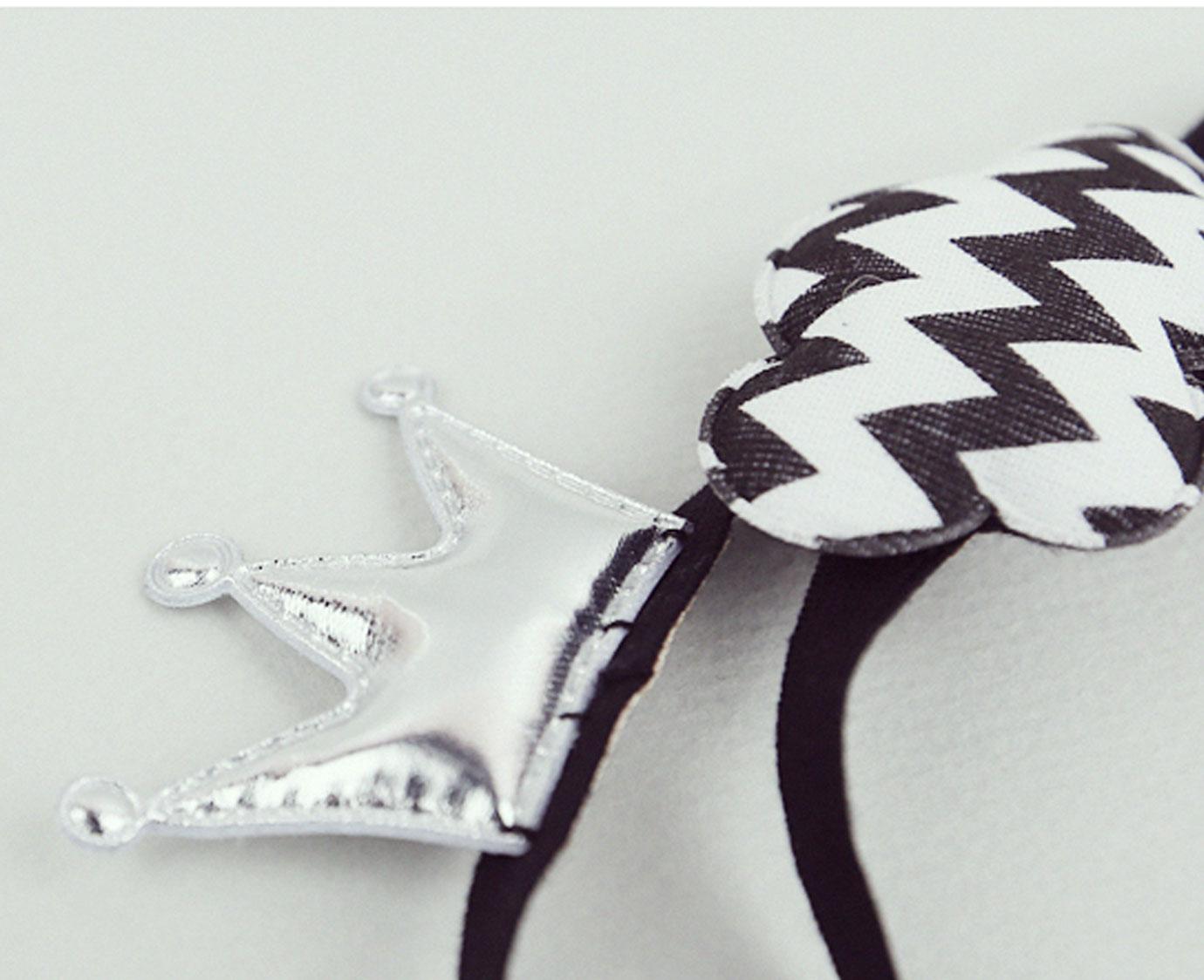 Haarband 'Kroon en Wolk'