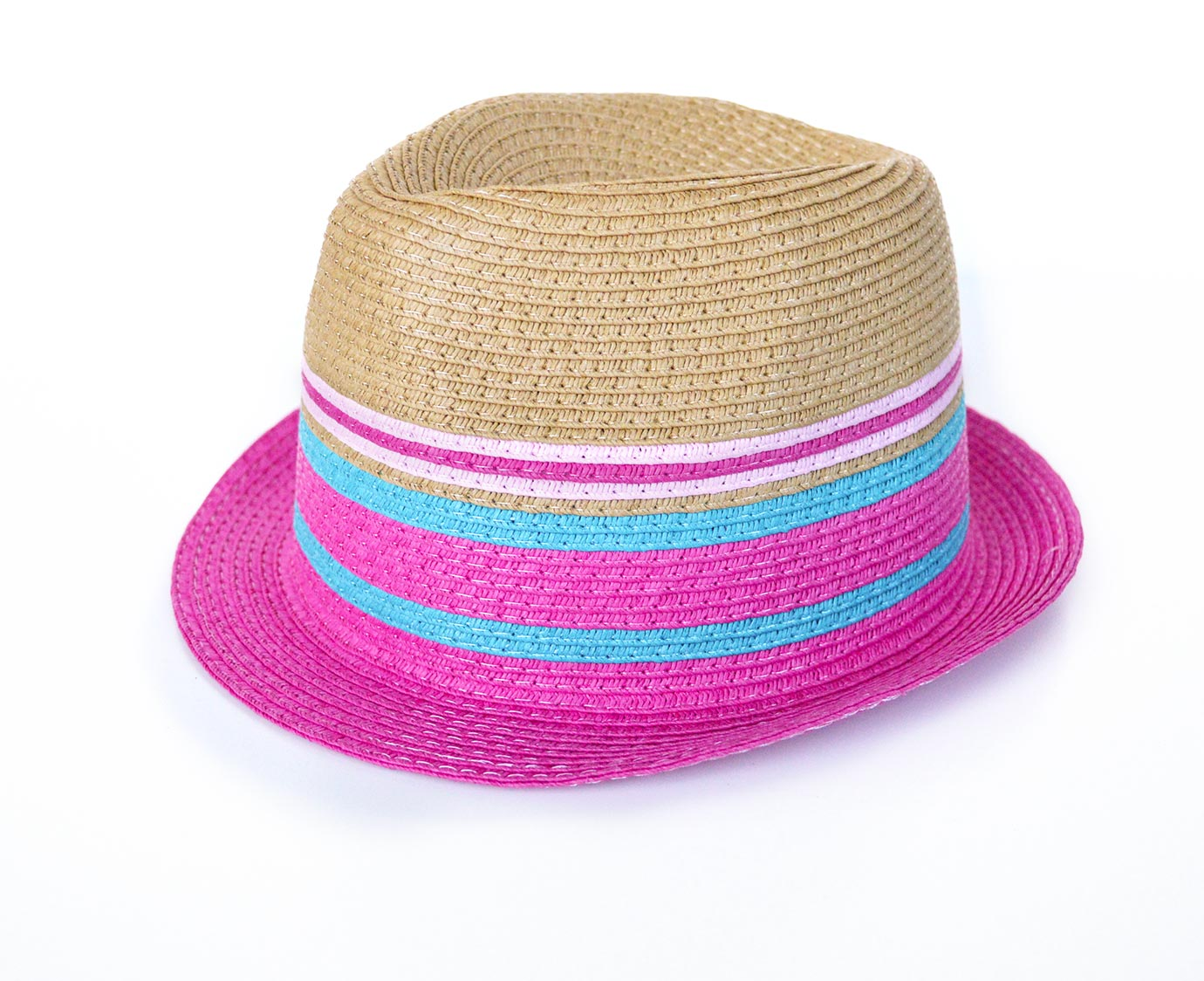 "Fedora ""Pink stripe"""