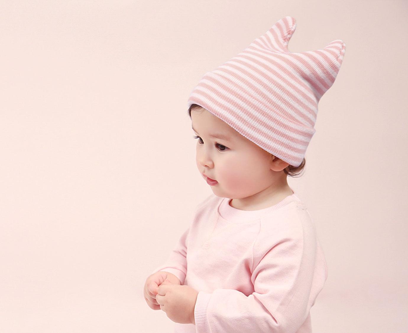 Beanie 'Raya Pink' kleur