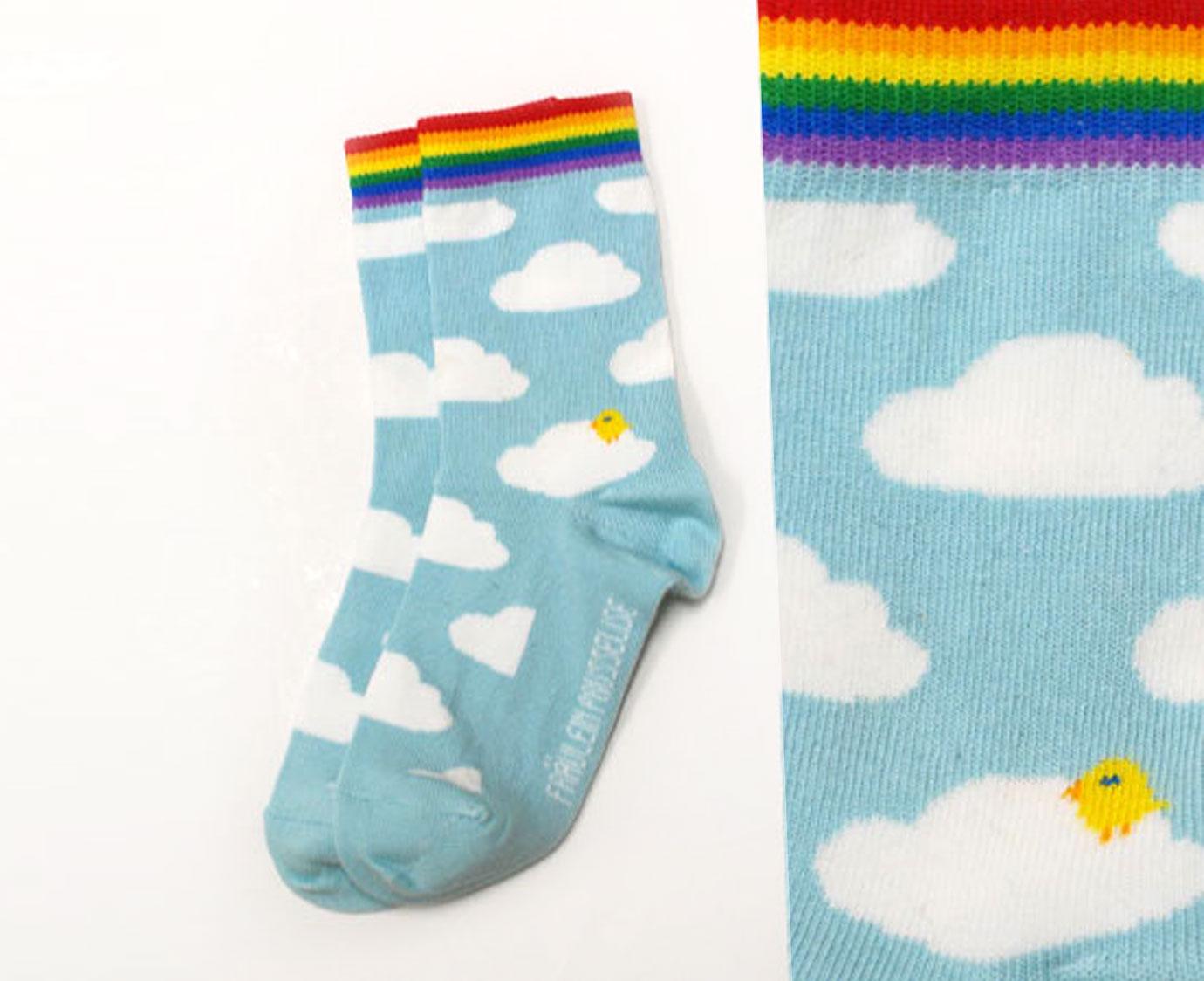 Sokken 'Regenboog'
