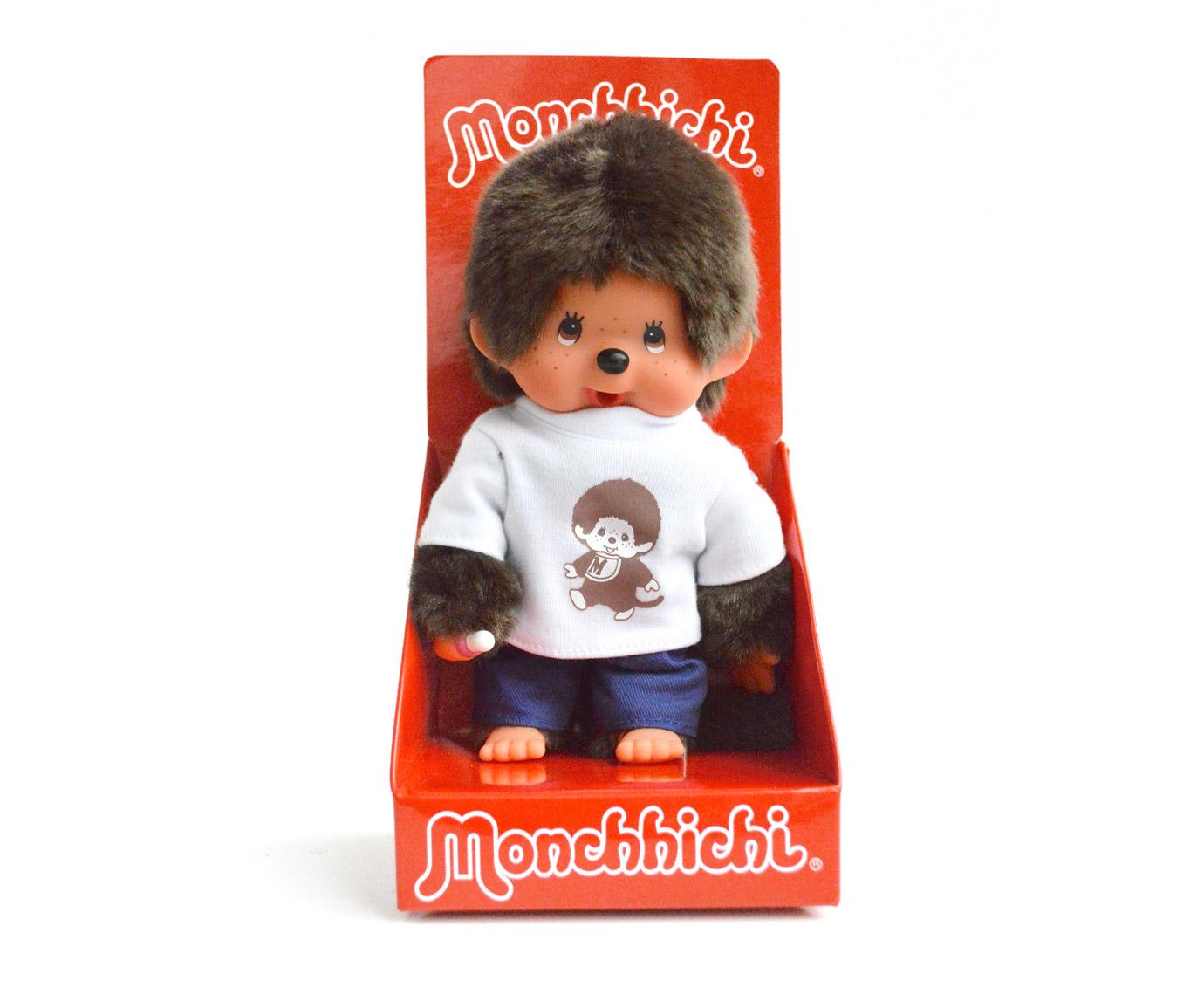 "Monchhichi ""T-shirt wit"" kleur"