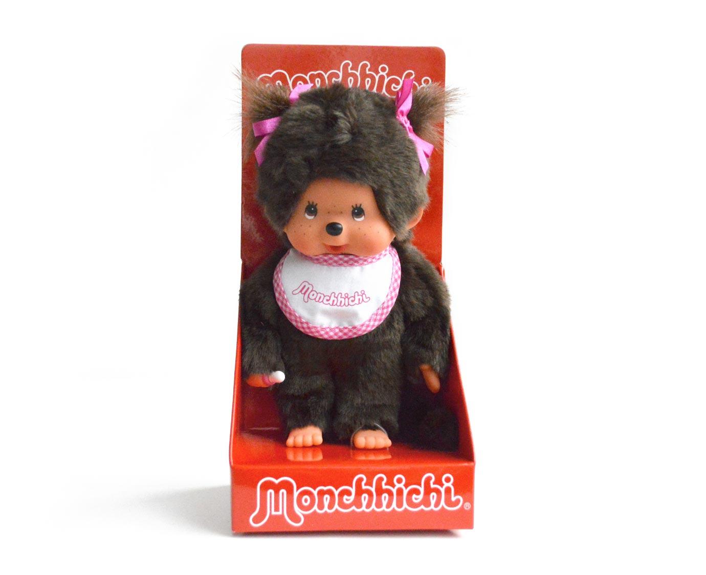 Monchhichi 'Slab roze' kleur