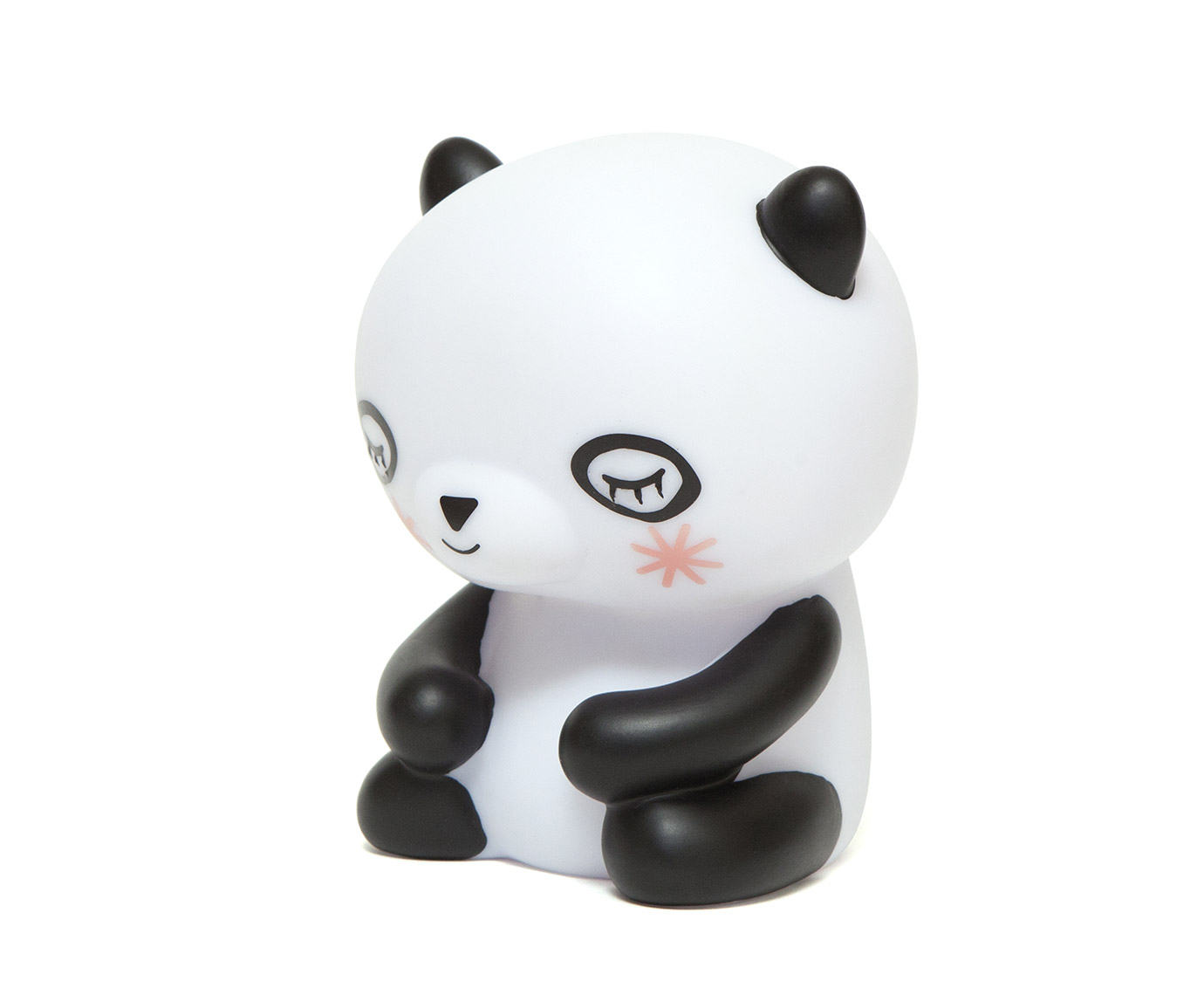 "Lampje ""Panda"" kleur"