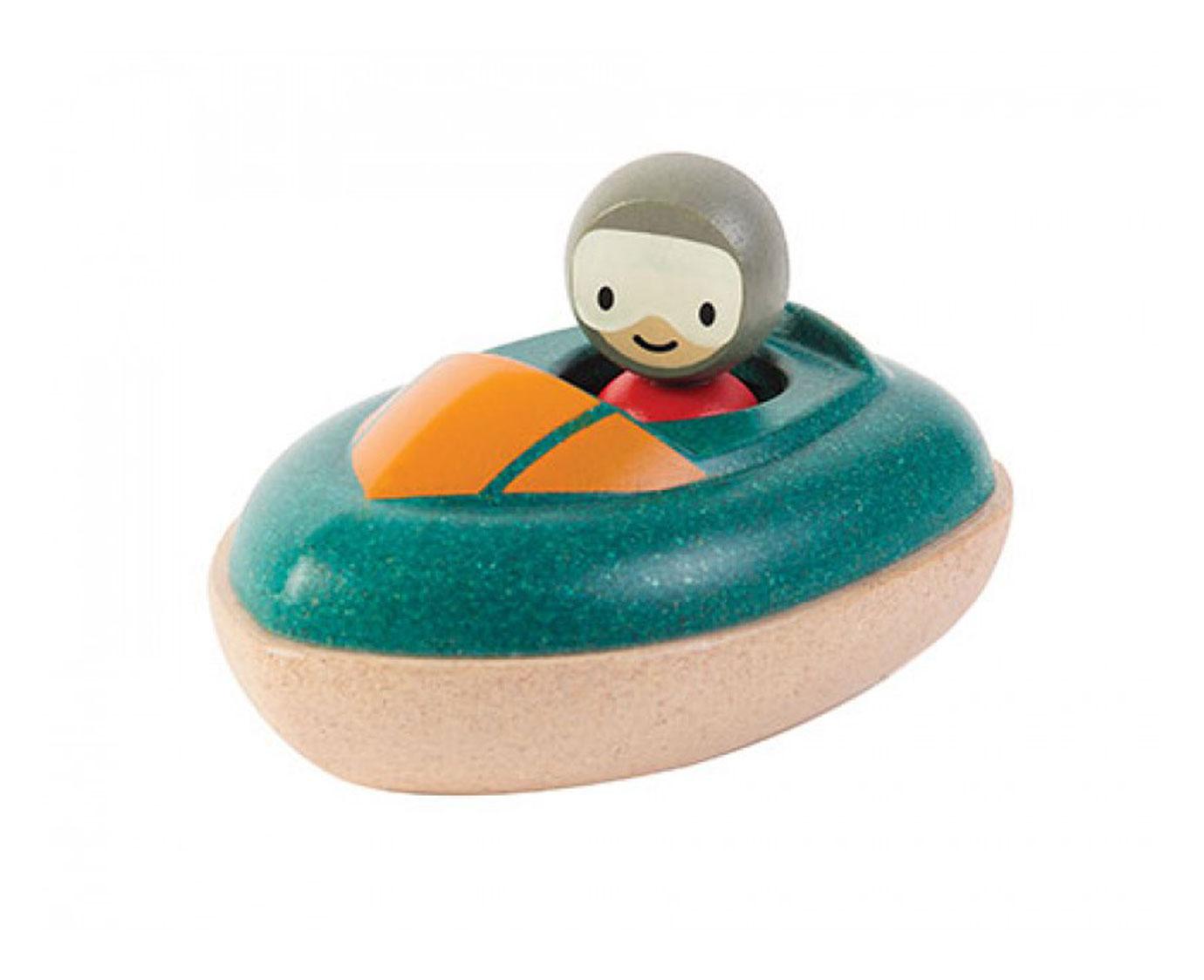 Plan Toys 'Speedboot' kleur