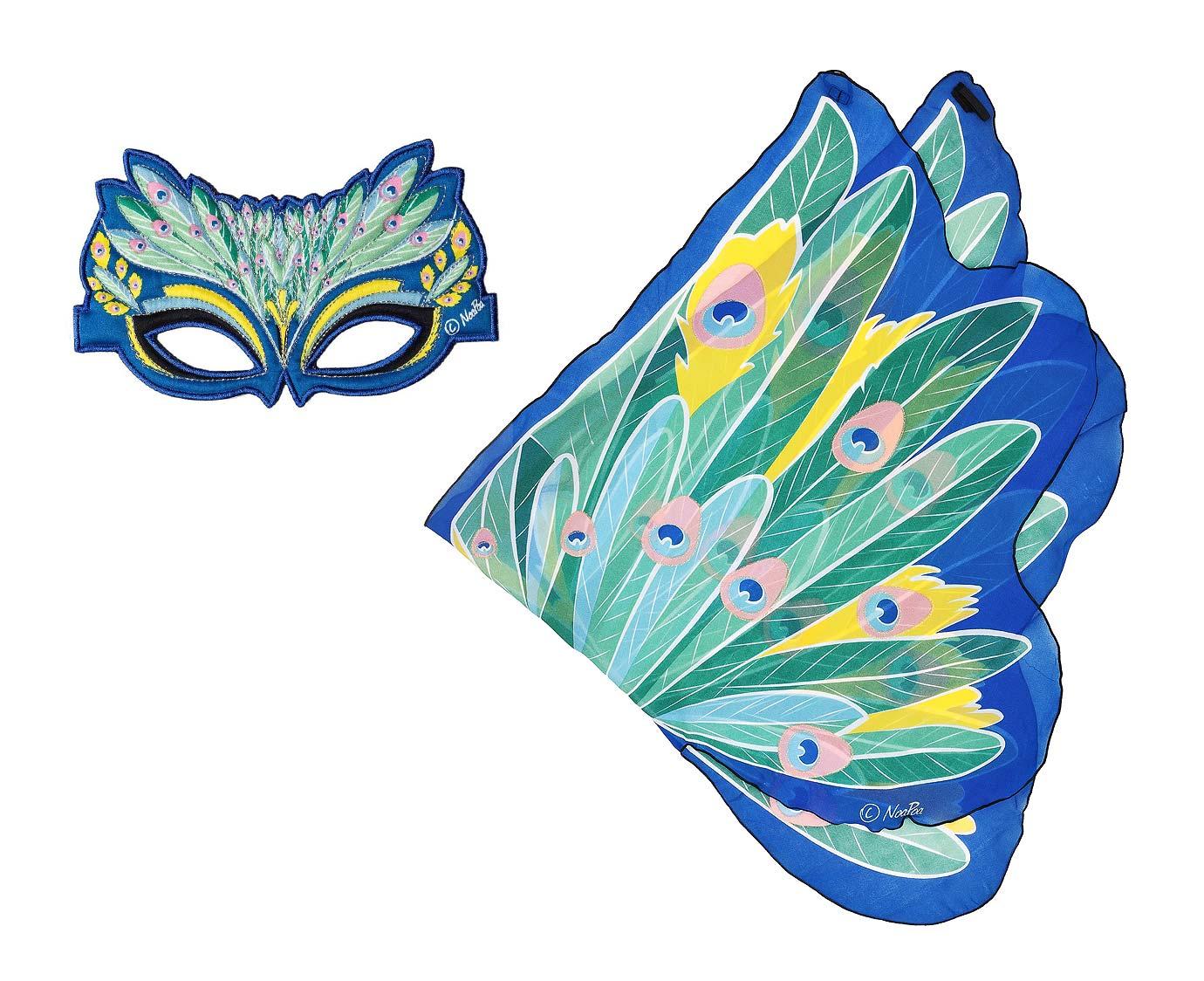 Vleugel set 'Peacock' kleur