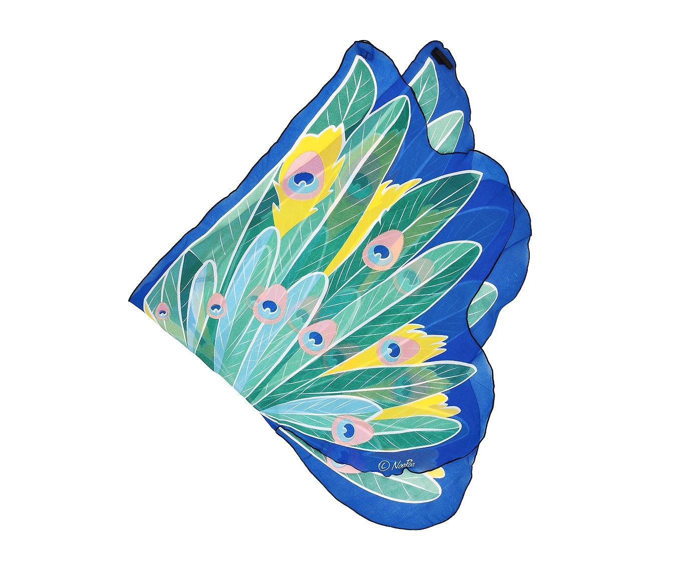 Vleugels 'Peacock' kleur