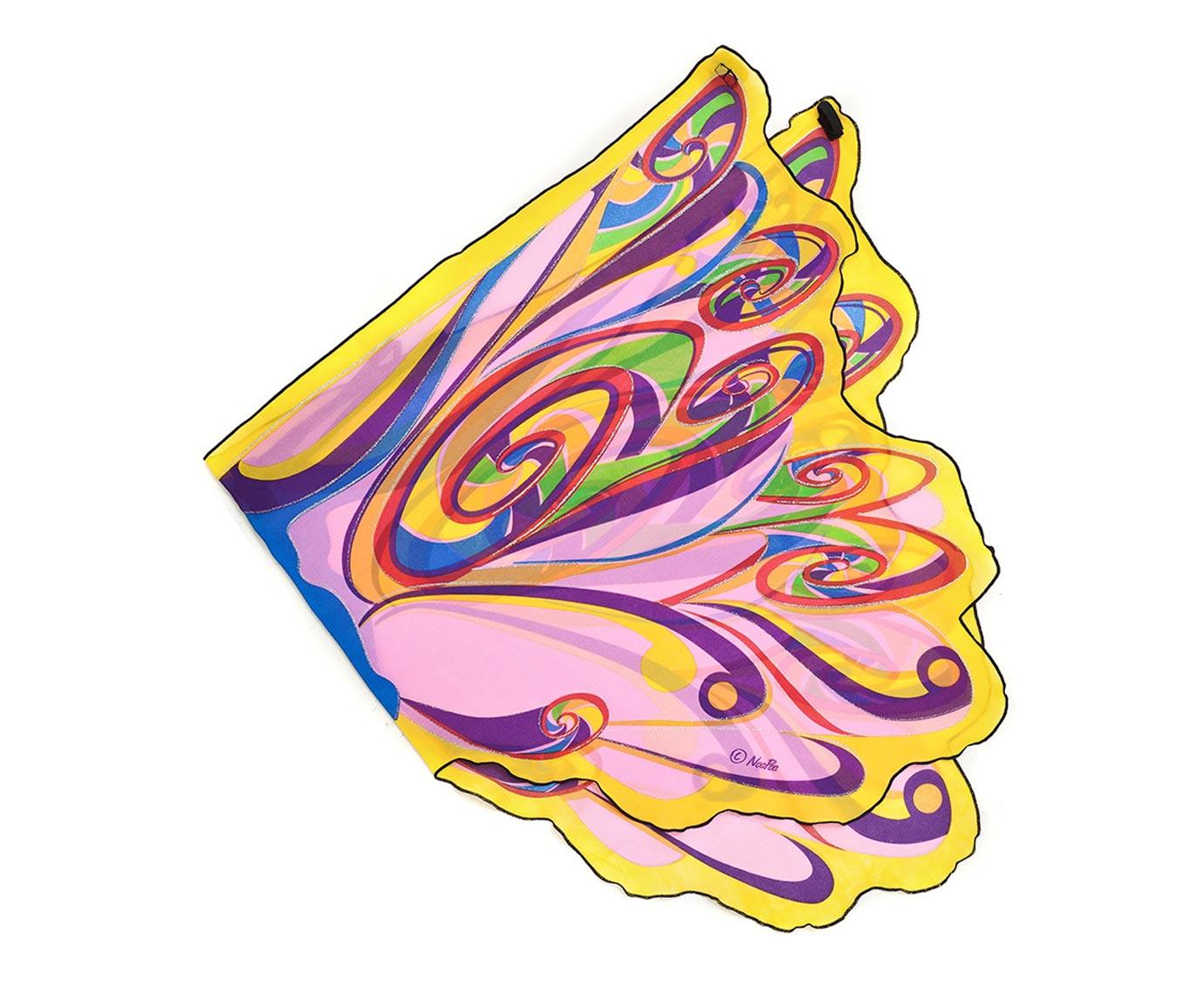 Vleugels 'Rainbow Fairy' kleur