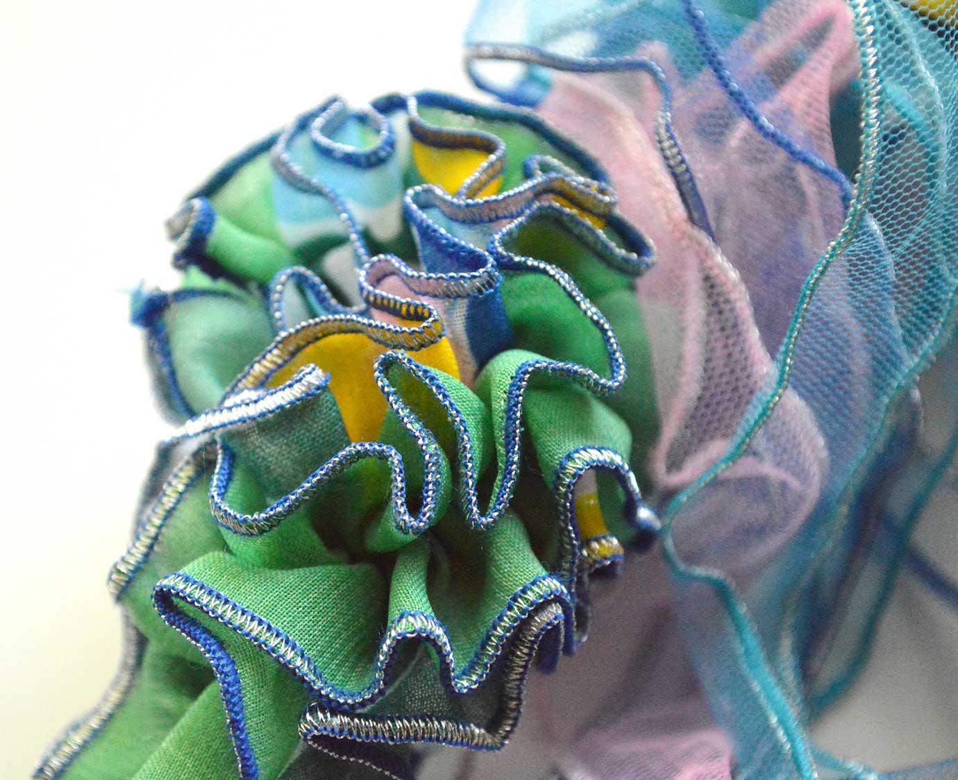 Wrap 'Peacock blue'