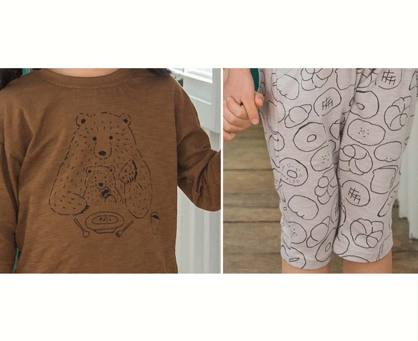 Loungewear  'Breakfast bear'