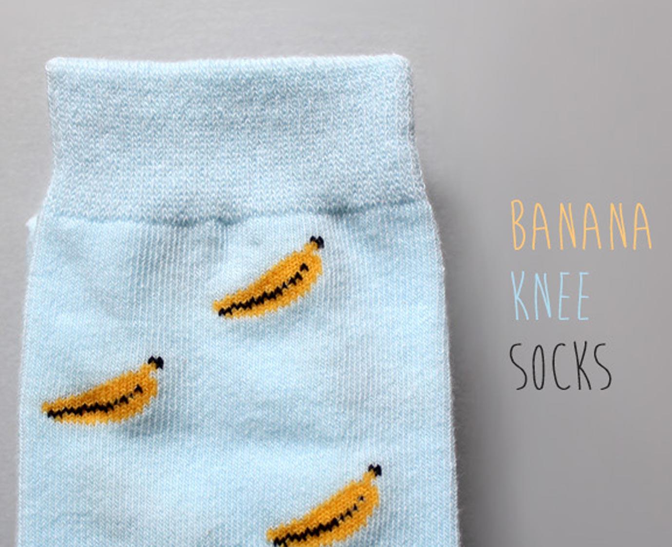 "Kniekousen ""Juicy Banana"""