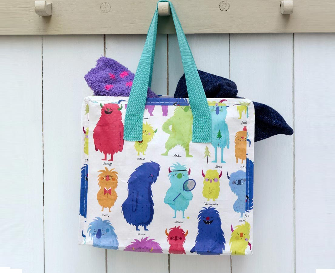 Kindertasje Monsters kleur