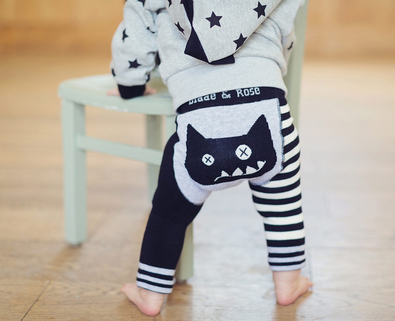 Legging 'Crazy cat' kleur