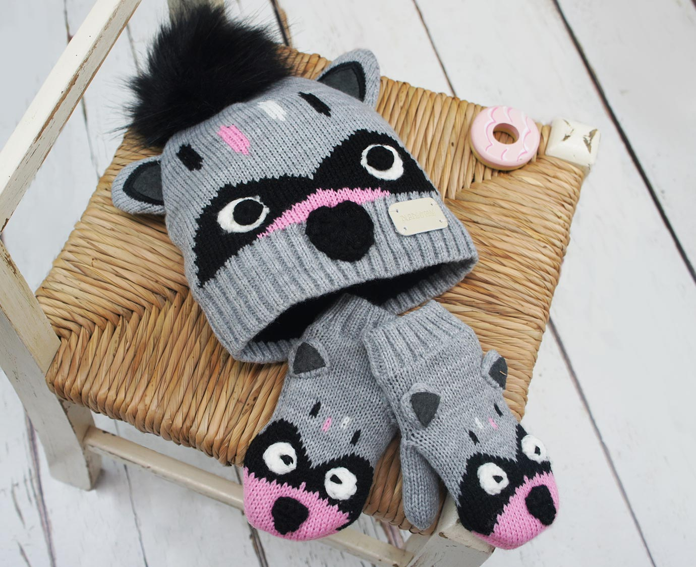 Set 'Raccoon' kleur