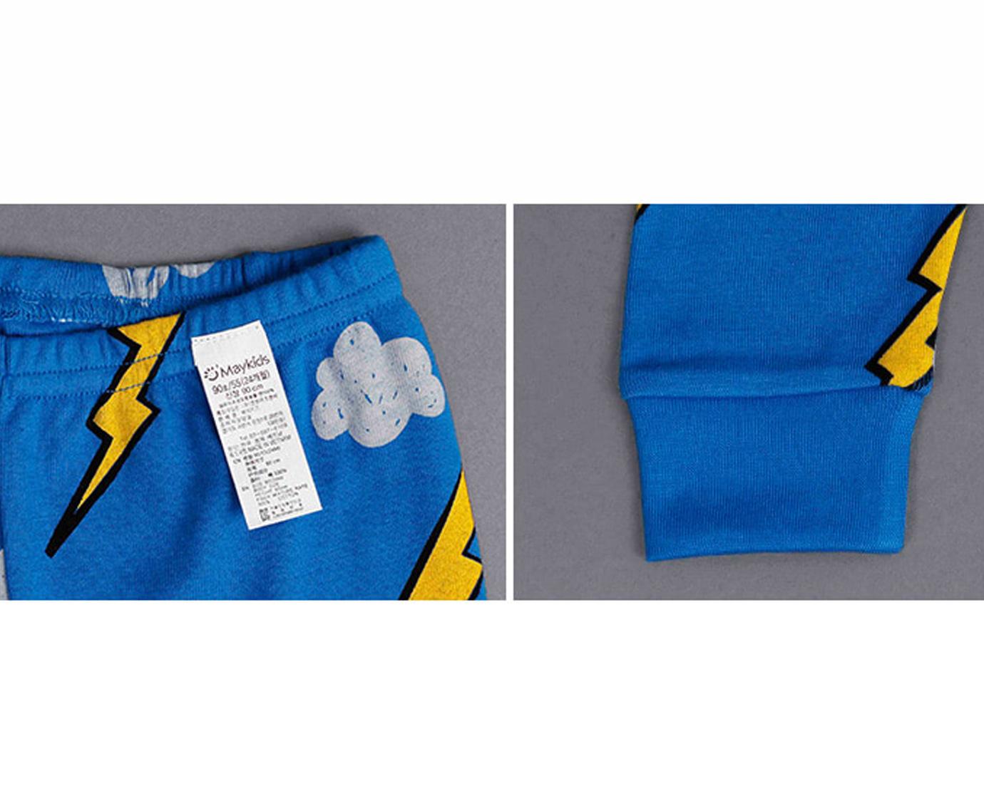 Pyjama 'Blue thunder'