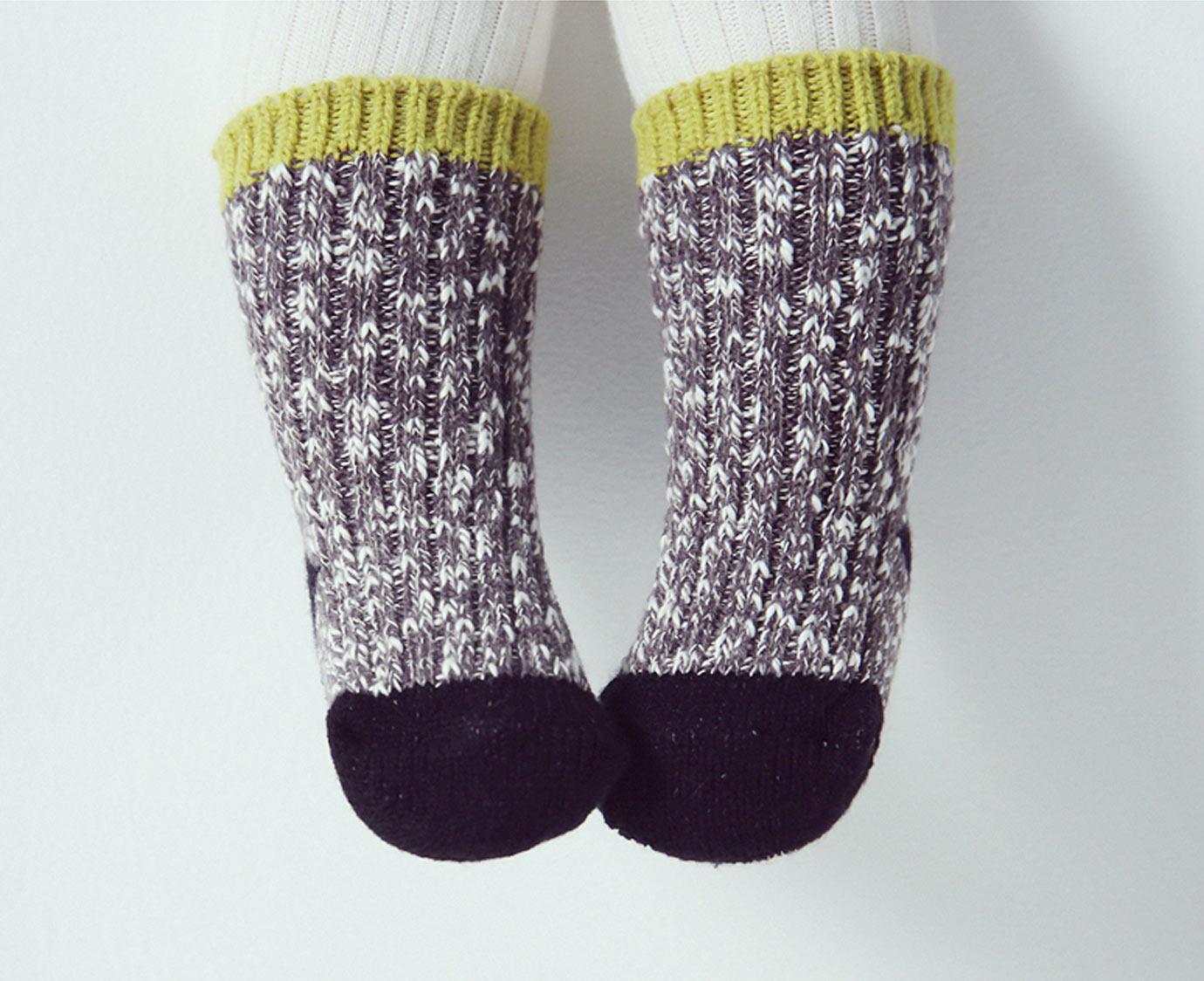 Sokken 'Bebe Knit' kleur