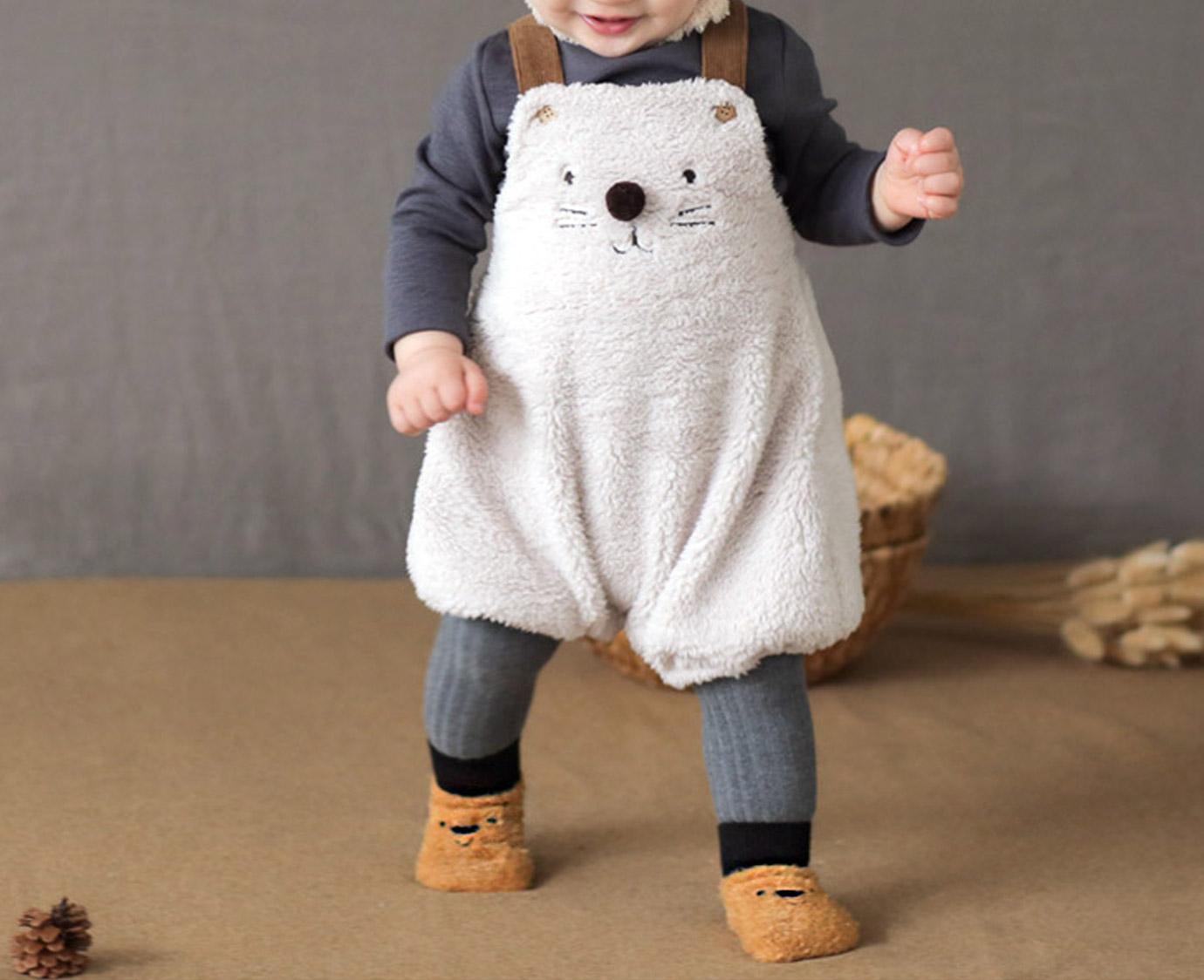 Sokjes 'Fluffy Bear'
