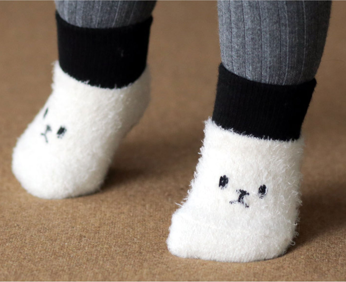 """Sokjes """"Fluffy Cat"""""""