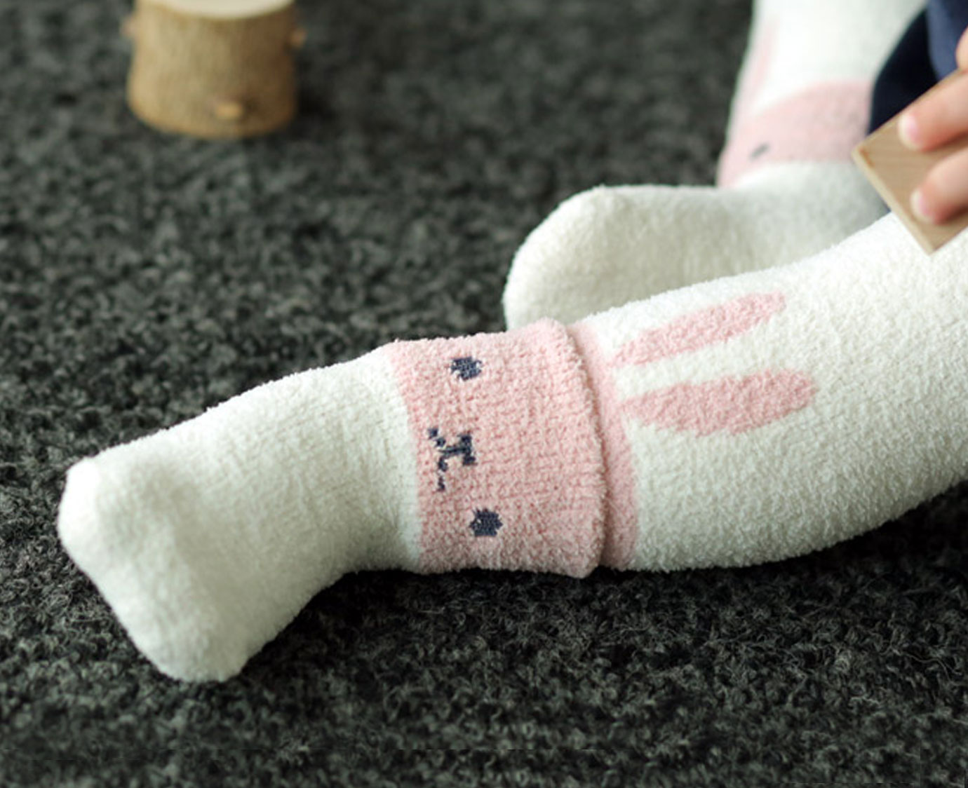 Warme legging 'Winter Rabbit' 6